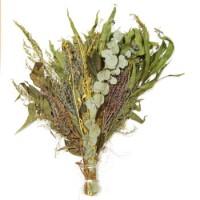 Веник из трав и эвкалипта